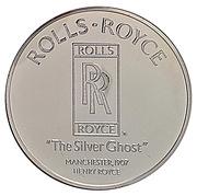 Centenaire de l'Automobile - Rolls Royce «The Silver Ghost» – revers
