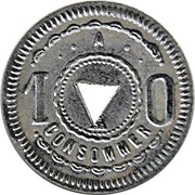 10 Centimes - A Consommer – avers