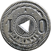 10 Centimes - A Consommer – revers