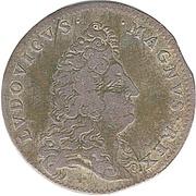 Jeton Louis XIV - Traités de Nimègue – avers