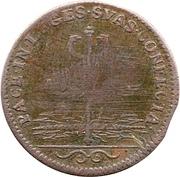 Jeton Louis XIV - Traités de Nimègue – revers