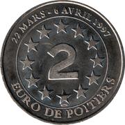 Jeton 2 Euros Poitiers – avers
