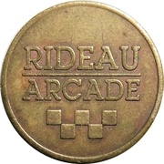 Token - Rideau Arcade (Ottawa, Ontario) – avers