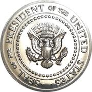Medal - Seal of the President / White House – avers