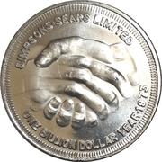 Medal - Simpsons - Sears Billion dollar year – avers