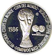 Token - FIFA World Cup 1986 – avers