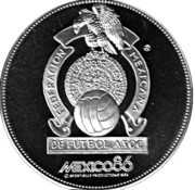 Token - FIFA World Cup 1986 – revers