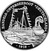 Token - Deutsche Post (Handels-Unterseeboot) – avers