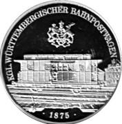 Token - Deutsche Post (Bahnpostwagen) – avers