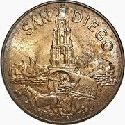 Token - San Diego Bicentennial – revers