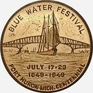 Token - Blue Water Festival (Port Huron, Michigan) – avers