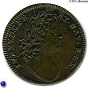 Louis XV et Apollon – avers