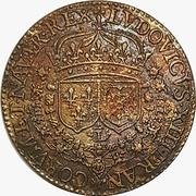 Jeton - Louis XIIII (Siege of La Rochelle) – avers