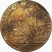 Jeton - Louis XIIII (Siege of La Rochelle) – revers