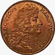 Token - Louis XIV (Attourneys to the King's counsel - Restrike) – avers