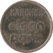 Jeton de lavage automobile - Kärcher Clean Park (Stade) – revers