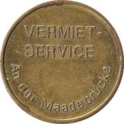 Jeton de lavage automobile - Kärcher Clean Park (Vermiet-Service ; laiton) – avers