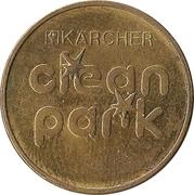 Jeton de lavage automobile - Kärcher Clean Park (Vermiet-Service ; laiton) – revers
