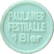 Jeton de bière - 1 Bier (Paulaner Festhalle) – revers