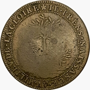 Token - Peace of the Pyrenees – revers