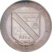 Medal - Cambridge, Ontario (Canada's Newest City) – avers