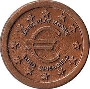1 euro cent (Euro play money / Spielgeld) – avers