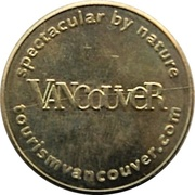 1 Dollar - EasyPark (Vancouver, British Columbia) – revers
