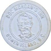 Token - Doc Morgan's Inn / Union Steamship Co. (Bowen Island) – avers