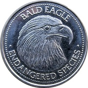Token - World Endangered Species Coin Collection (Bald Eagle) – avers