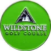 Token - Wildstone Golf Course (Cranbrook, British Columbia) – avers