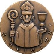 Medal - 600 Years of Finnish Goldsmith Art – avers