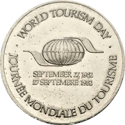 Token - Canada (World Tourism Day) – revers