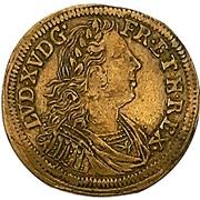 Token - Louis XIIII (Johann Konrad Hoger, Nuremberg) – avers