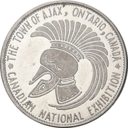 Souvenir Token - Canadian National Exhibition (Ajax, Ontario) – avers
