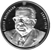 Token - Chancellors and Presidents of Germany (Gustav Heinemann) – avers