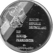 Token - Chancellors and Presidents of Germany (Walter Scheel) – revers