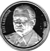 Token - Chancellors and Presidents of Germany (Kurt G. Kiesinger) – avers