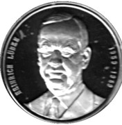 Token - Chancellors and Presidents of Germany (Heinrich Lübke) – avers