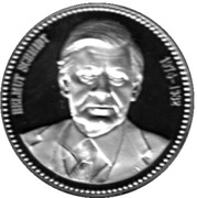 Token - Chancellors and Presidents of Germany (Helmut Schmidt) – avers
