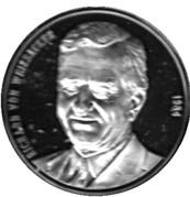 Token - Chancellors and Presidents of Germany (Richard von Weizsäcker) – avers