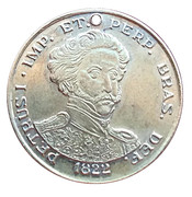 Medal - TRIM's Tribute to the 150th Anniversary of Independence of Brazil – avers