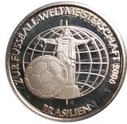 Jeton - Coupe du monde de football Allemagne 2006 – avers