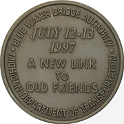 Token - Blue Water Bridge – revers