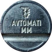 Token - Avtomati MM – revers
