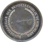 Token - Chancellors and Presidents of Germany (Kurt Georg Kiesinger) – revers