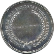 Token - Chancellors and Presidents of Germany (Willy Brandt) – revers