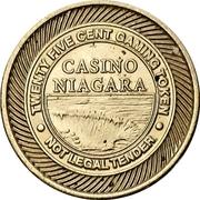 25 cent Gaming Token - Casino - Niagara/Fallsview – avers