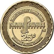 25 cent Gaming Token - Casino - Niagara/Fallsview – revers
