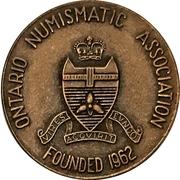 Medal - Ontario Numismatic Association Convention 1973 (Waterloo, Ontario) – revers