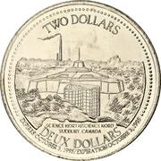 2 Dollars - Sudbury, Ontario – avers
